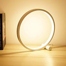 Xiaojie LED Table Lamp For Bedroom Circular