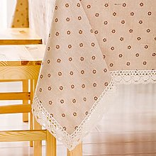Xiaojie Tablecloth cute Japanese cotton cloth