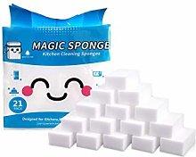 XIAOJUN Magic Cleaning Sponge, 1Pack of 21 Magic