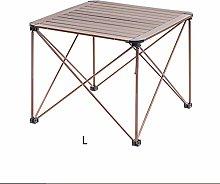 xiaokeai Sofa End Tables Foldable Aluminum Table