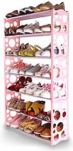 XIAOLI Bedroom Shoe Rack 7-layer Simple Assembly