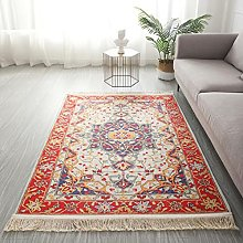 XIAOLIN Persian Floral Area Rugs Abstract Vintage