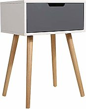XIAOLULU Bedroom Bedside Table Narrow and Small