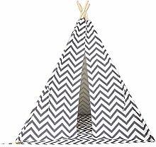 XIAOLULU Tent Children Teepee Tent for Kids