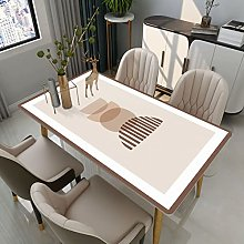xiaopang Duty Vinyl Tablecloth for Square Table