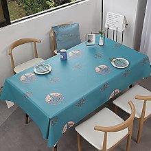xiaopang Linen Tablecloth Water Resistant