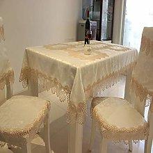 xiaopang Washable Cotton Linen Table Cloth