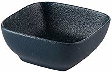 xiaosu Square ceramic bowl, frosted soup bowl,
