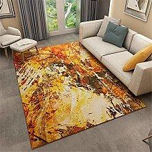 Xiaosua carpet large Orange Retro style carpet