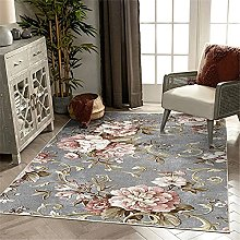 Xiaosua Carpets For Bedrooms Pink Living room rug