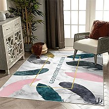 Xiaosua Carpets For Home Pink Living room rug pink