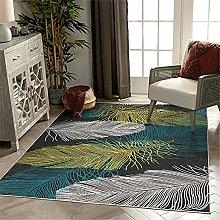 Xiaosua Rug Carpets For Room Blue Living room rug