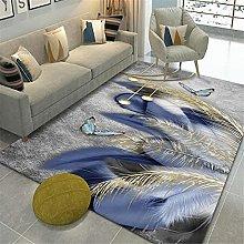 Xiaosua rug for bedroom Blue Living room carpet