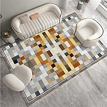 Xiaosua Small Rug For Bedroom Brown Living room