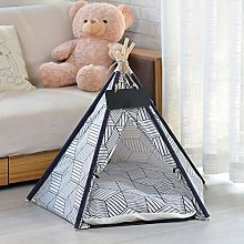 XIAOTING Pet Tent for Dogs Puppy Cat,Linen Dog
