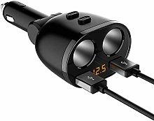XIAOWANG Car charger, 2 USB Port Car Charger