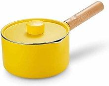 XIAOWEI Butter warmer Milk pot Milk warmer enamel