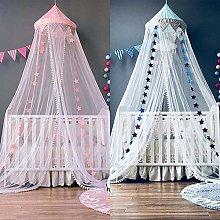 XIAOXIA Princess Wind Childrens Tent Crib Gauze