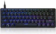 xiaoxioaguo 61-key mechanical keyboard USB wired