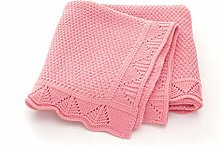 xiaoxioaguo Baby's cotton knitted baby blanket