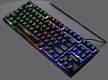 xiaoxioaguo Mechanical keyboard 87 keys blue