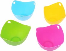 Xiaoyao24 Silicone Egg-Mold Bowl Rings Cooker
