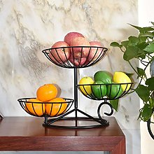 XIBALI 3 Tier Metal Wire Fruit Vegetable