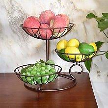XIBALI 3 Tier Metal Wire Fruit Vegetable