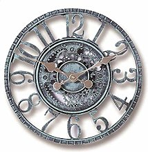 XICI Garden Wall Clocks Outdoor Waterproof, Large