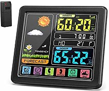 Xigeapg Weather Station, Indoor Outdoor