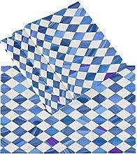 xigua 6PCS Placemats Table Mats,Geometric Rhombus