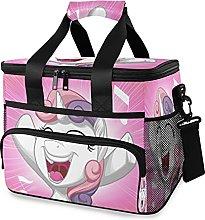xigua Lunch Bag 15L 24 Cans -Purple Pink Unicorns