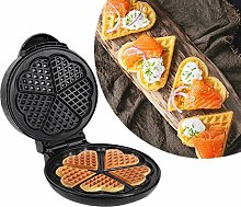XIJING Heart Waffle Maker Iron - Double Food Grade
