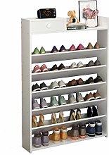 xilinshop Shoe Rack Portable Shoe Storage Cabinet,