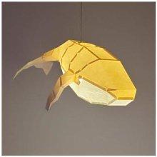 Ximiko - Big Whale Lamp - Sandy beige