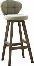 XIN CHANG LWH Bar Stools, Solid Wood High Chair