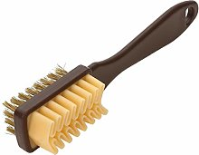 XIN NA RUI Boot Brush 1pc 2-Sided Shoe Cleaning