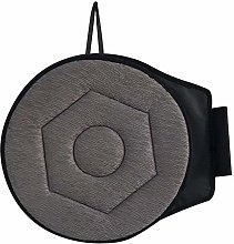 XIN Rotating Car Seat Cushion 360° Chair Pad