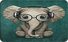 XINGAKA carpet bath mat,rug,balcony,Elephant With
