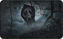 XINGAKA carpet bath mat,rug,Ghost Scream With Old