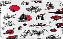 XINGAKA carpet bath mat,rug,Japan With Japanese