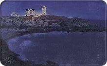 XINGAKA carpet bath mat,rug,Lighthouse Decorated