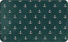 XINGAKA carpet bath mat,rug,Nautical Pattern With