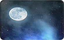 XINGAKA carpet bath mat,rug,Night Sky With Stars