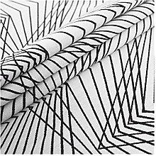 XINGJIJIJIA Crushed Upholstery fabric stripe