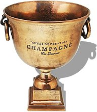 XINGLIEU Trophy Cup Champagne Cooler Brown Copper