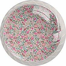 Xingruyun Bathroom knobs Colorful Floral drawer