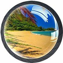 Xingruyun Cabinet knobs 4 pack Sunny Beach
