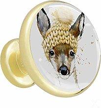Xingruyun Cupboard knobs gold Cute Animal cabinet