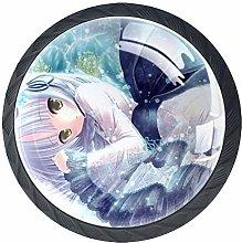 Xingruyun Drawer Knobs Anime Girl (361) Furniture